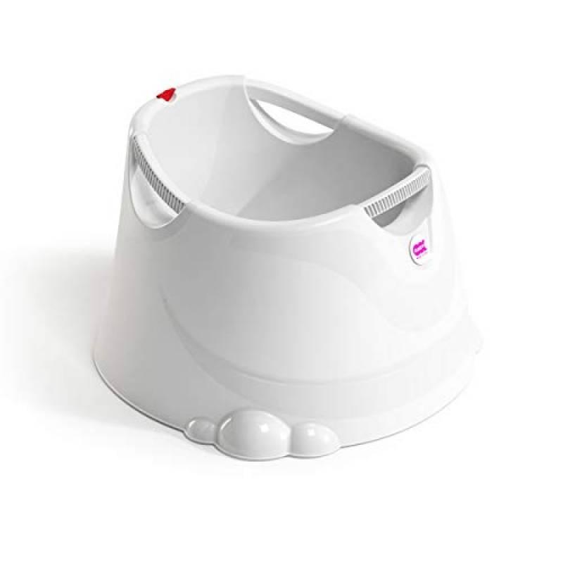 OKBABY Oplà - Vaschetta Ampia e Versatile per il Bagnetto del Neonato 12-36 Mesi (fino a 25 kg) - Bianco